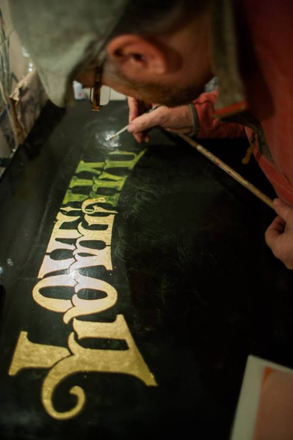 Signwriting course and service of LONDON NGS