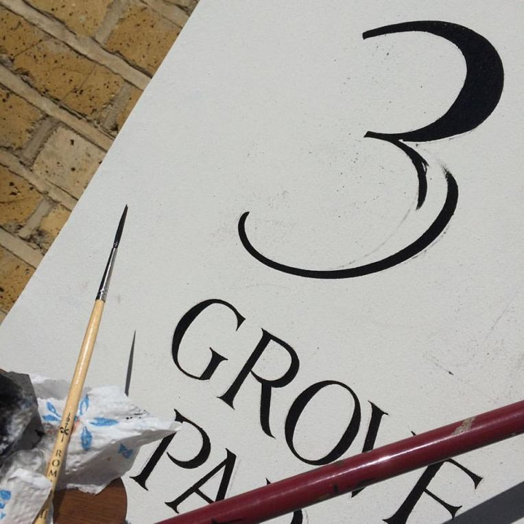House numbers NG Signs 3