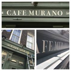 Cafe Murano Covent garden London by nick garrett NGS