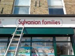 Sylvanian families shop North London New sign Nick Garrett