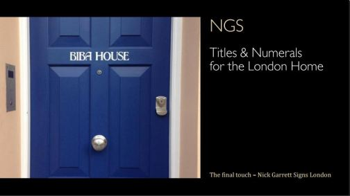 NGS Front page numeral catalogue