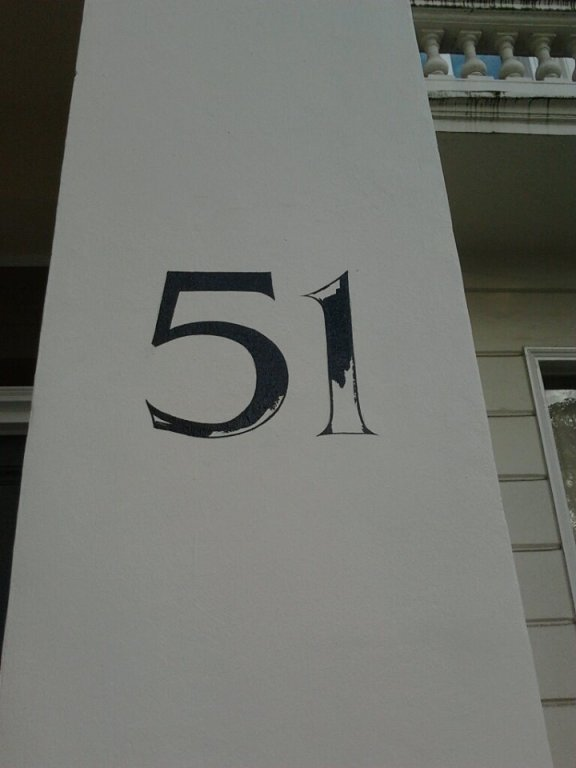 51 Linear letter formation