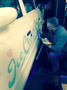 The Ice Cream Cab - Nick Garrett signwriter 001