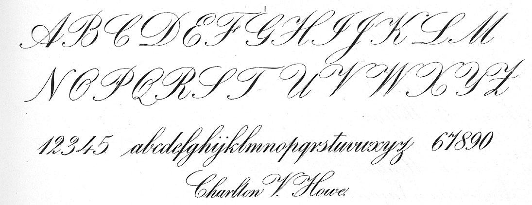 The main Calligraphic Script styles - Nick Garrett ...