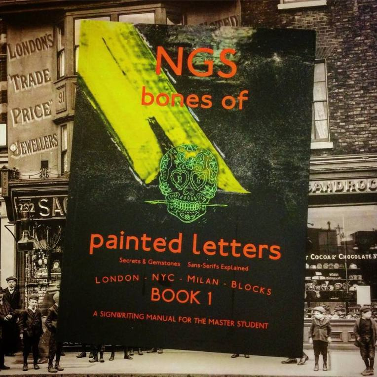 Cool Type book Bones of painted letters NGS London 006